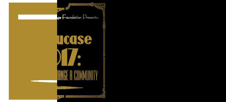 Showcase 2017: Change a Life – Change a Community