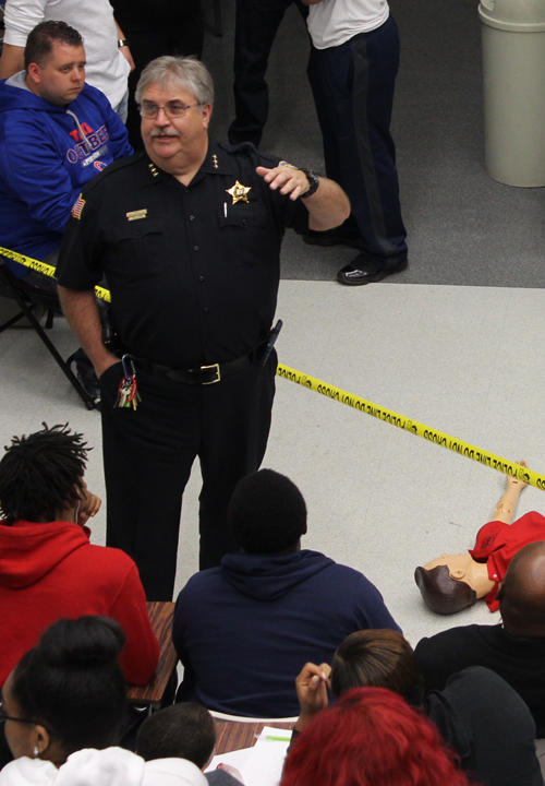 Photo of a criminal justice class.