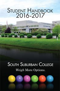Student Handbook 2016-17 cover