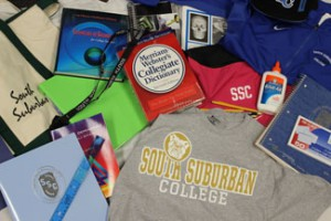 Products available in the SSC bookstore