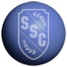 SSC logo on blue sphere