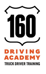 160 DRIVING ACADEMY logo