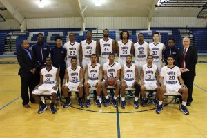 2016-17 SSC Men's Basketball Team photo