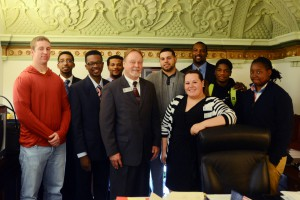 South Suburban College students represented one of the largest contingents at Student Advocacy Day in Springfield.