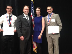 Photo of South Suburban College alumni honored in Springfield
