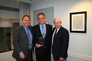 Tony DeFilippo receiving ICCTA Award