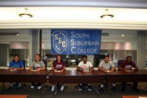 Bulldogs student-athletes signing transfer scholarships