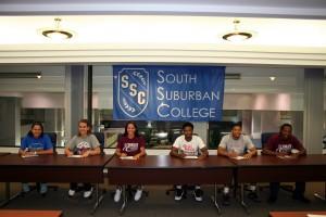 Bulldogs student-athletes signing transfer scholarships