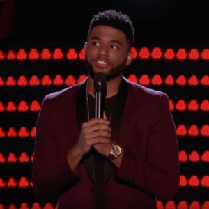 """Pictured: Local talent Mark Hood advances to the Battle Rounds next week after wowing the mentors on NBC's """"The Voice."""""""