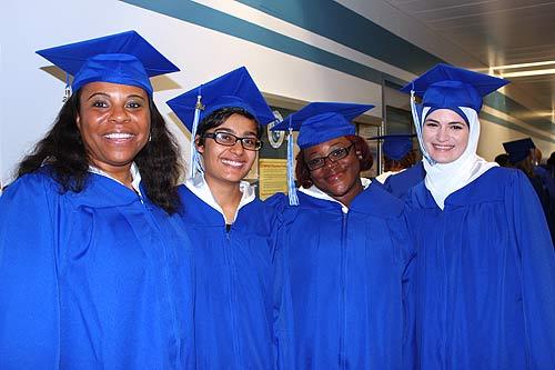 Photo of a graduates