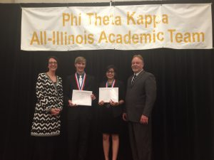 South Suburban College Students Honored at Phi Theta Kappa Banquet in Springfield