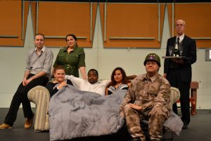 The 'Amorous Ambassador' is Slapstick Silliness at South Suburban College