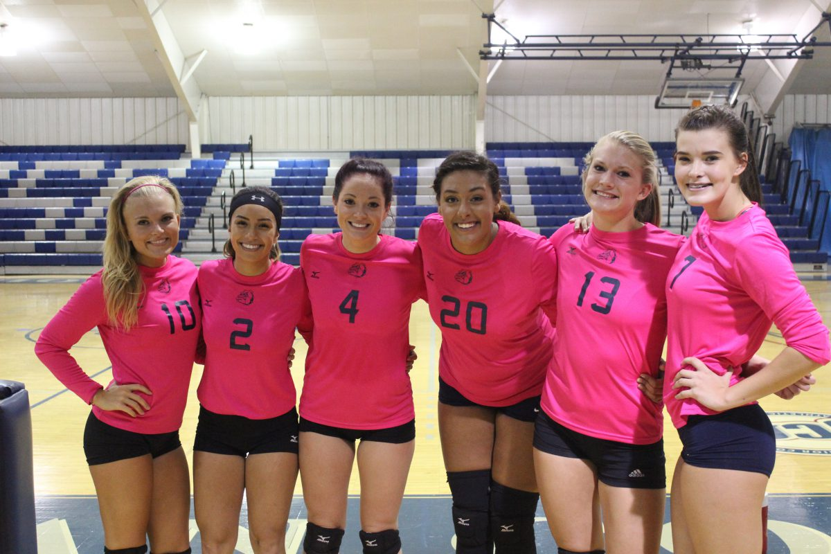 Broadcasting the perfect set for former volleyball players