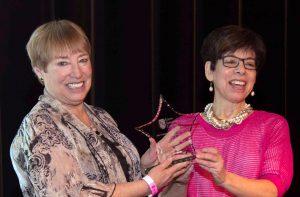 Joan Dorman and Nancy Burrows
