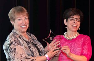 Photo of 2016 Star Award recipient Joan Dorman with SSC's Nancy Burrows