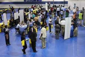 South Suburban College and Thornton Township Job Fair at the College