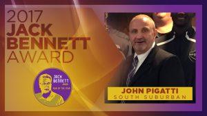 SSC's John Pigatti is the recipient of the 2017 Jack Bennett award