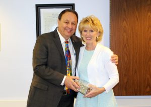 Photo of Frank Zuccarelli with ree Jan Green