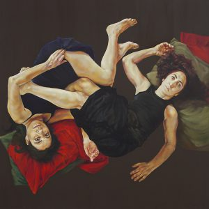 Zapatas Widows, Oil on Canvas, 2010 by Carmen Chami