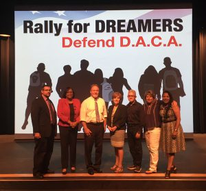 D.A.C.A Rally Held at South Suburban College