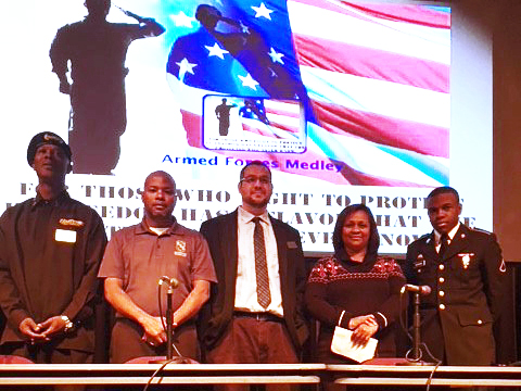 SSC Veterans Day Event Panelists