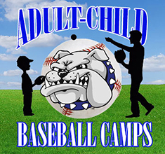 Adult-Child Baseball Camps logo