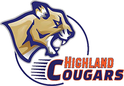 Highland Community College Cougars logo