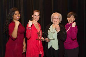 LaTasha Binder, Bridgett Annicks, Janice Crowe, and Nancy Burrows