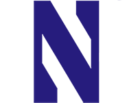 Northwestern University Wildcats logo