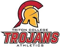 Triton College Trojans logo
