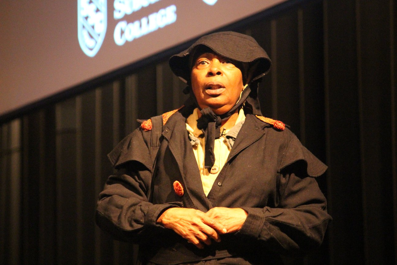 Cynthia Maddox as Harriet Tubman