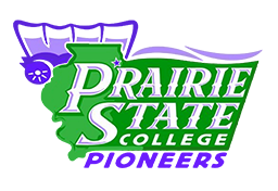 Prairie State College Pioneers sports logo