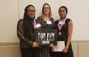 Photo of Jada Muldrow, Joan Rosen and Ifeoma Onwumelu