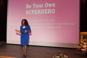 2018 Women's Conference Keynote Speaker Felicia Houston.