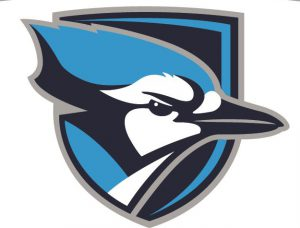 Elmhurst College Bluejays sports logo