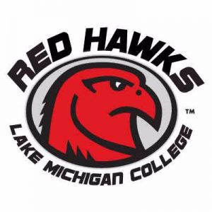 Lake Michigan College Red Hawks sports logo