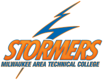Milwaukee Area Technical Community College Stormers sports logo