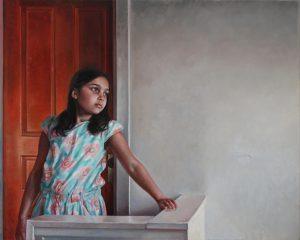 The Knob, 2017, Oil on canvas
