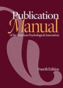 Publication Manual of the APA icon