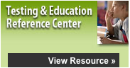 Testing & Education Reference Center button