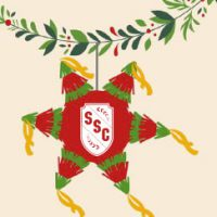 SSC holiday pinata