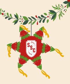 SSC holiday pinata