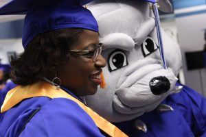 SSC Graduate with Bruno