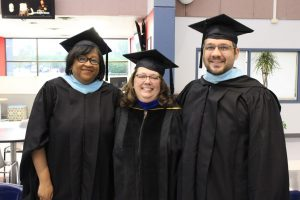 Accademic Deans at Graduation