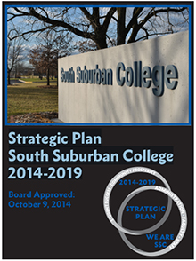Strategic Plan South Suburban College 2014-2019 cover