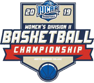 NJCAA Women's Basketball NJCAA Division II National Tournament logo