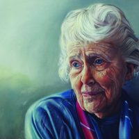 ": ""Marion"" / Oil on canvas by Michele Norman"