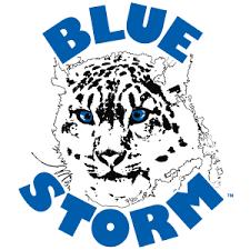 Southwestern Illinois College Blue Storm sports logo