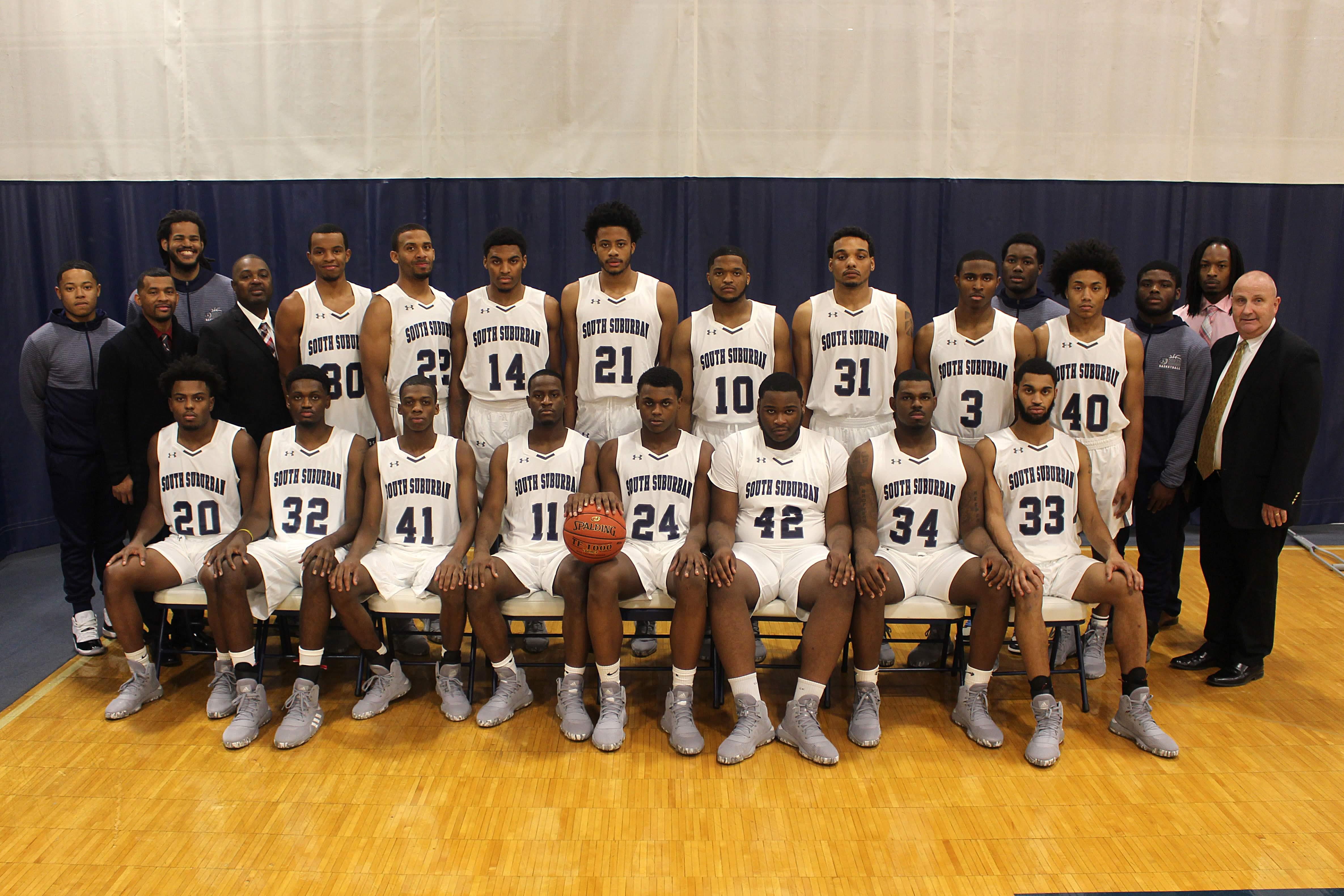 2019-20 SSC Men's Basketball Team photo