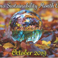 Campus Sustainability Month 2019
